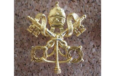 Фото значек Герб Святого Престола