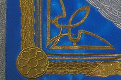 Качество вышивки флага - штандарта