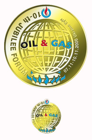 дизайн награды (медаль и значок)