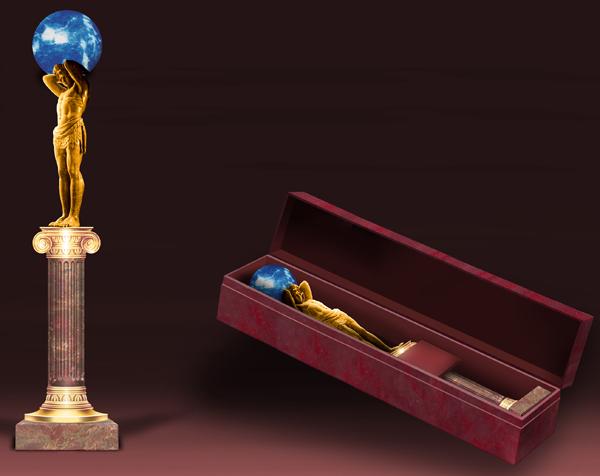 Дизайн приза и подарочной упаковки