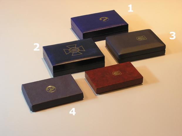 Виды упаковки для наград