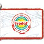Двухсторонний флаг Тродат