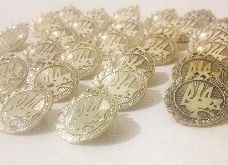 Фото Виготовлення нагороди - литво в латуні