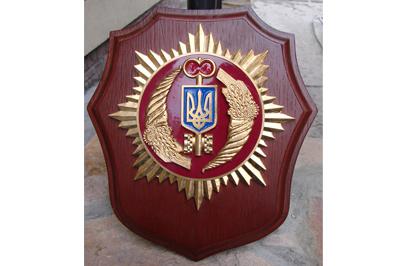 Настенный герб ведомственный