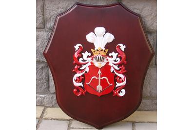 Изготовление личного настенного герба