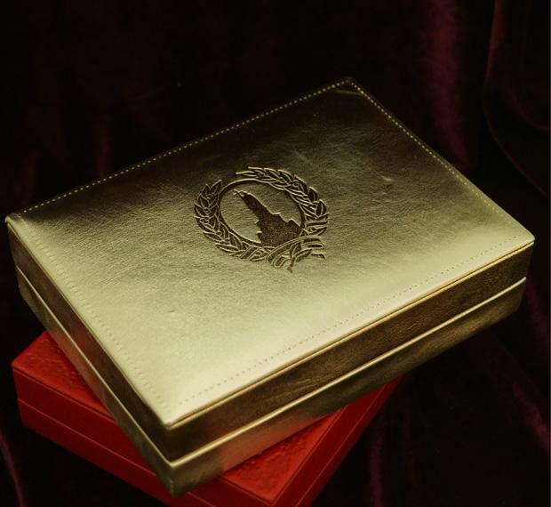 Наградная коробка изготовление