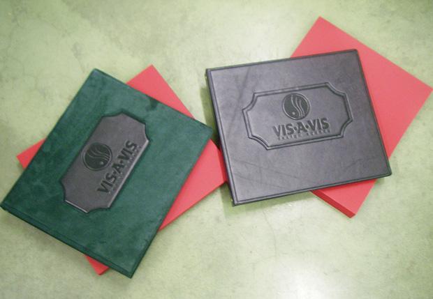 Изготовление папок из кожи заказать
