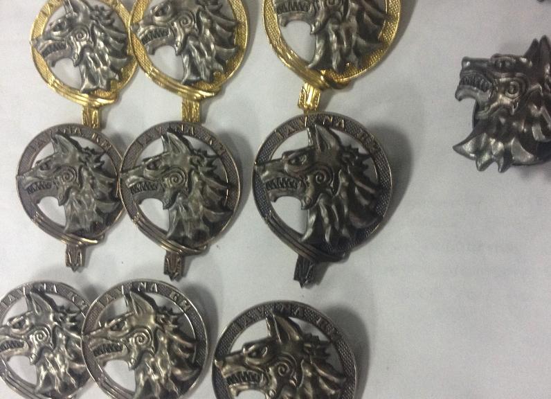 Фото Изготовленные награды в тираже