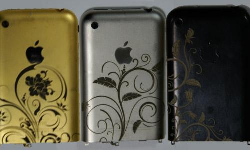 цветовая гамма Iphone